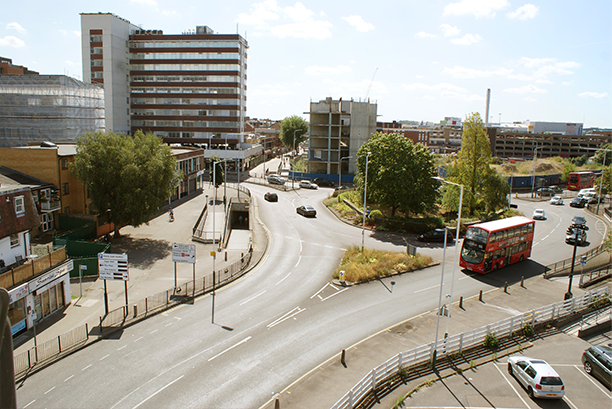 North Street roundabout currently