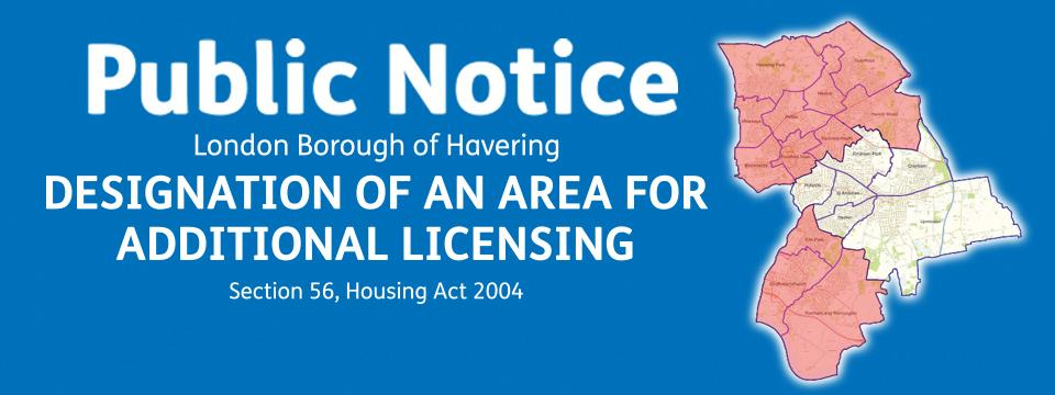 property licence banner