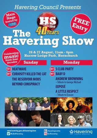 40 years of the Havering Show