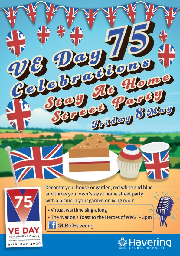 VE Day 75 celebrations with singalongs and stay at home street parties