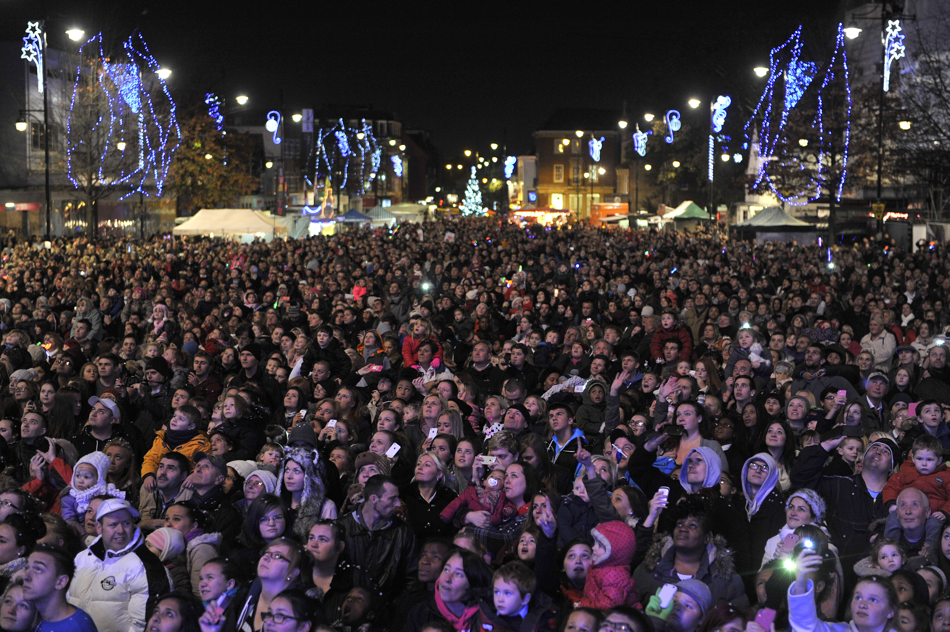 Romford Christmas Lights Switch-on 2016