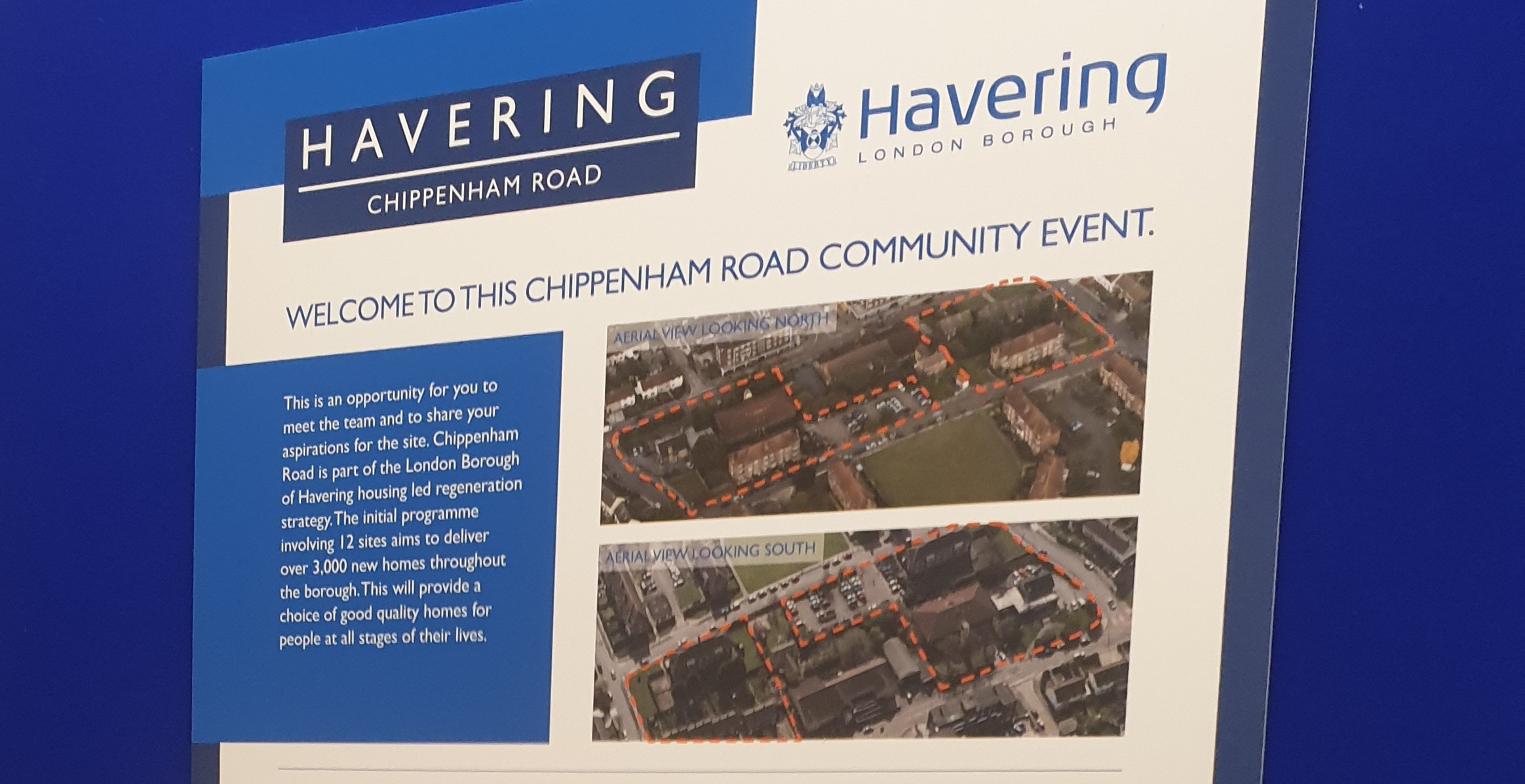 Chippenham Rd consultation boards