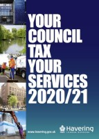 Council tax booklet 2020/21 cover
