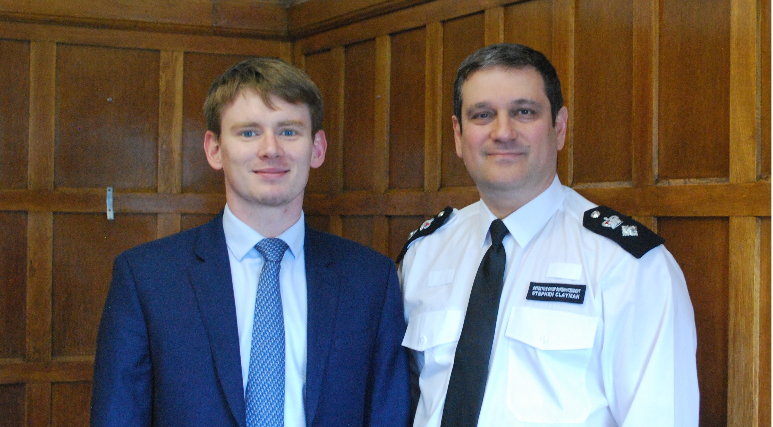 Leader and borough commander discuss tackling crime