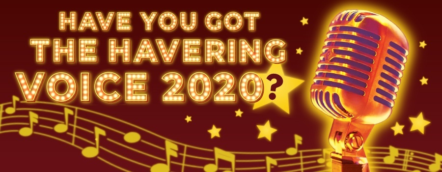 Havering Voice competition 2020 banner