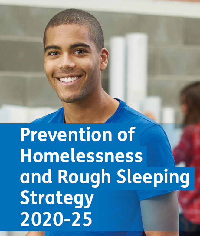 Prevention of Homelessness and Rough Sleeping Strategy 2020 – 2025 cover