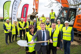 work starts on new sports centre