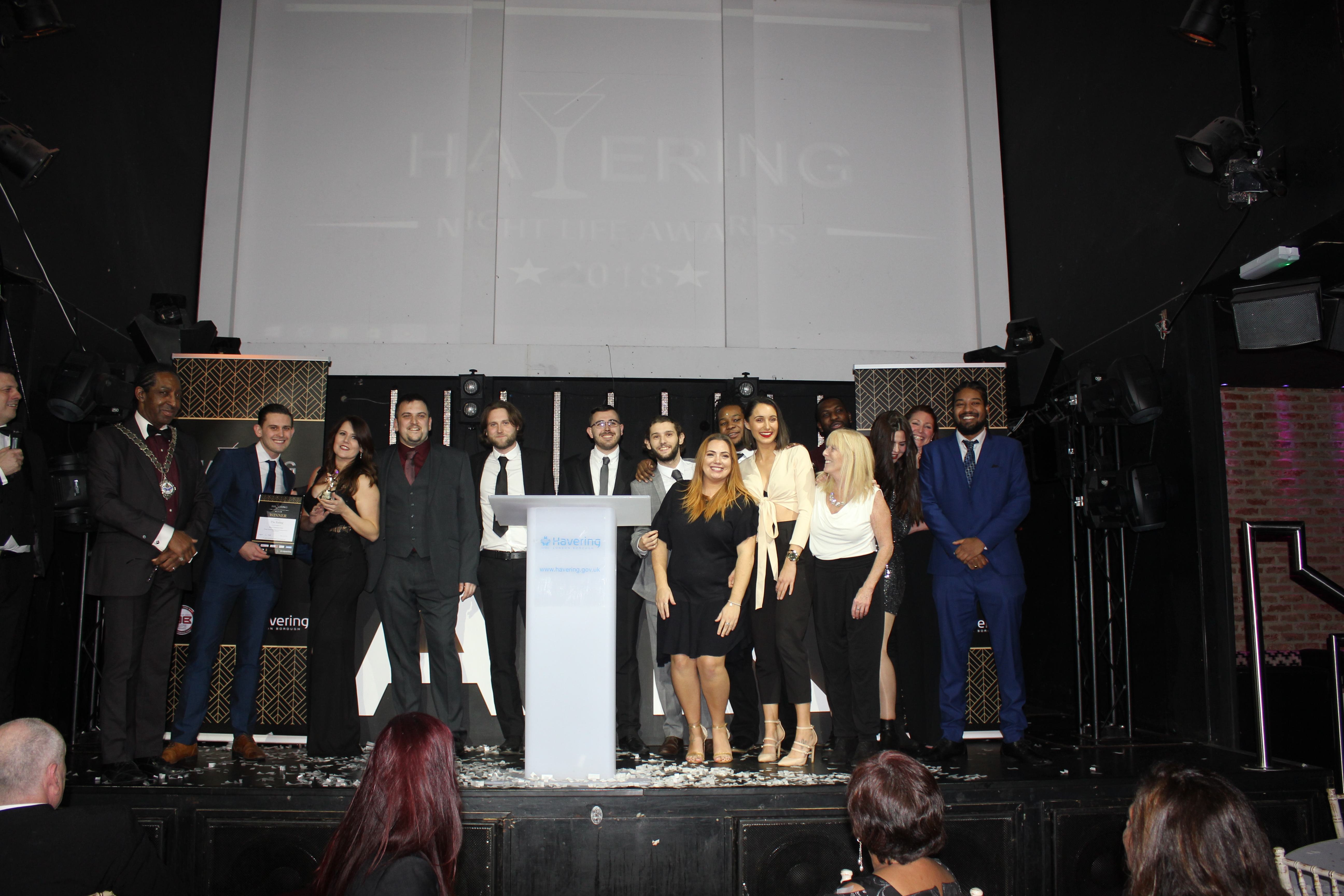 Havering's top venues were awarded at the nightlife awards