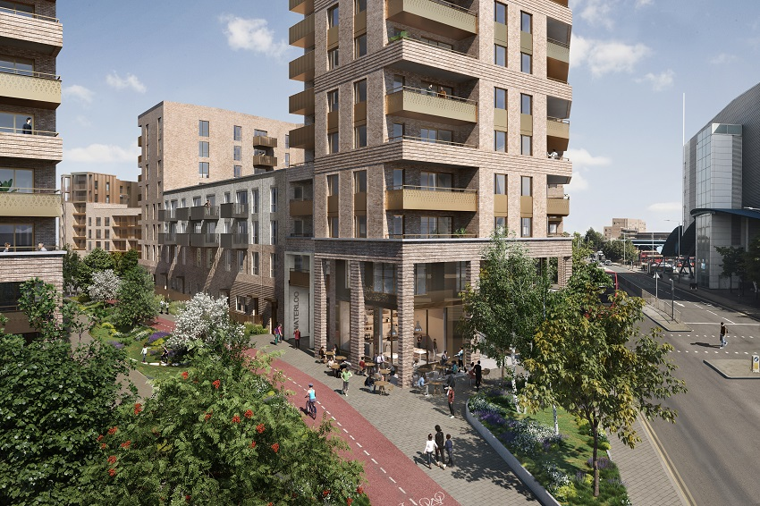 CGI for Waterloo Estate