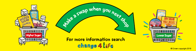 Make a swap for the healthier option when you next shop
