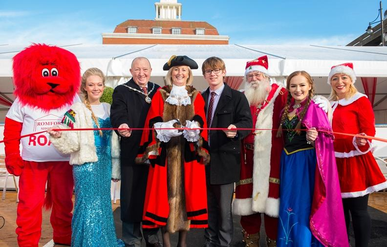 Romford Ice Rink is officially opened