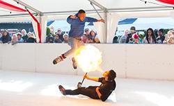 Hot stuff from the Birmingham Ice Freestylers
