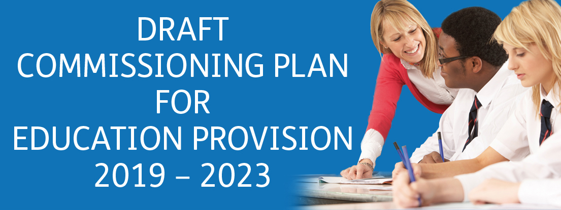 Education provision consultation banner