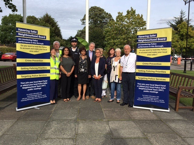 Community open day with safer neighbourhood Board