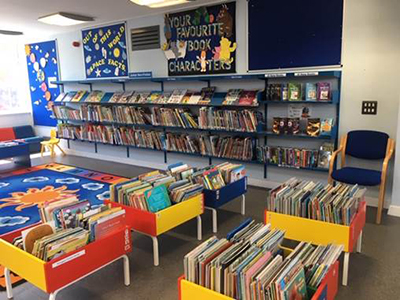 South Hornchurch Library children's area