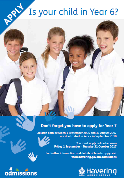 2018 school admissions is open