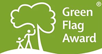 Green flag parks award logo