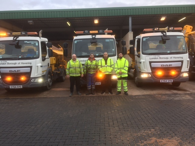 Gritters are ready in Havering
