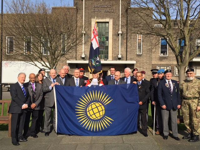 Mayor raises flag to mark Commonwealth Day