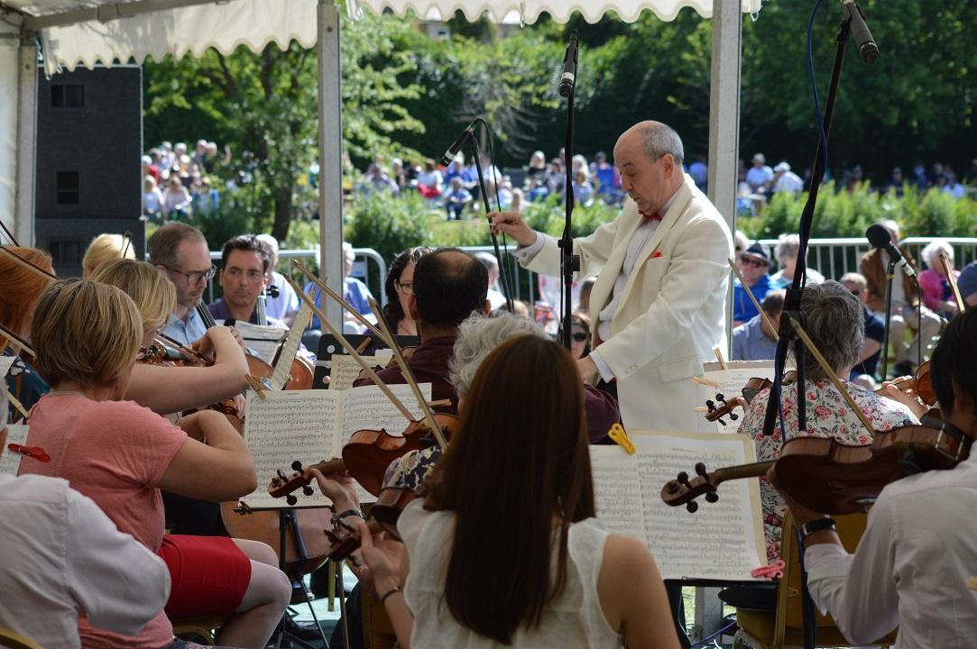 Westminster Philharmonic Orchestra performing at the Langtons Summer Concert