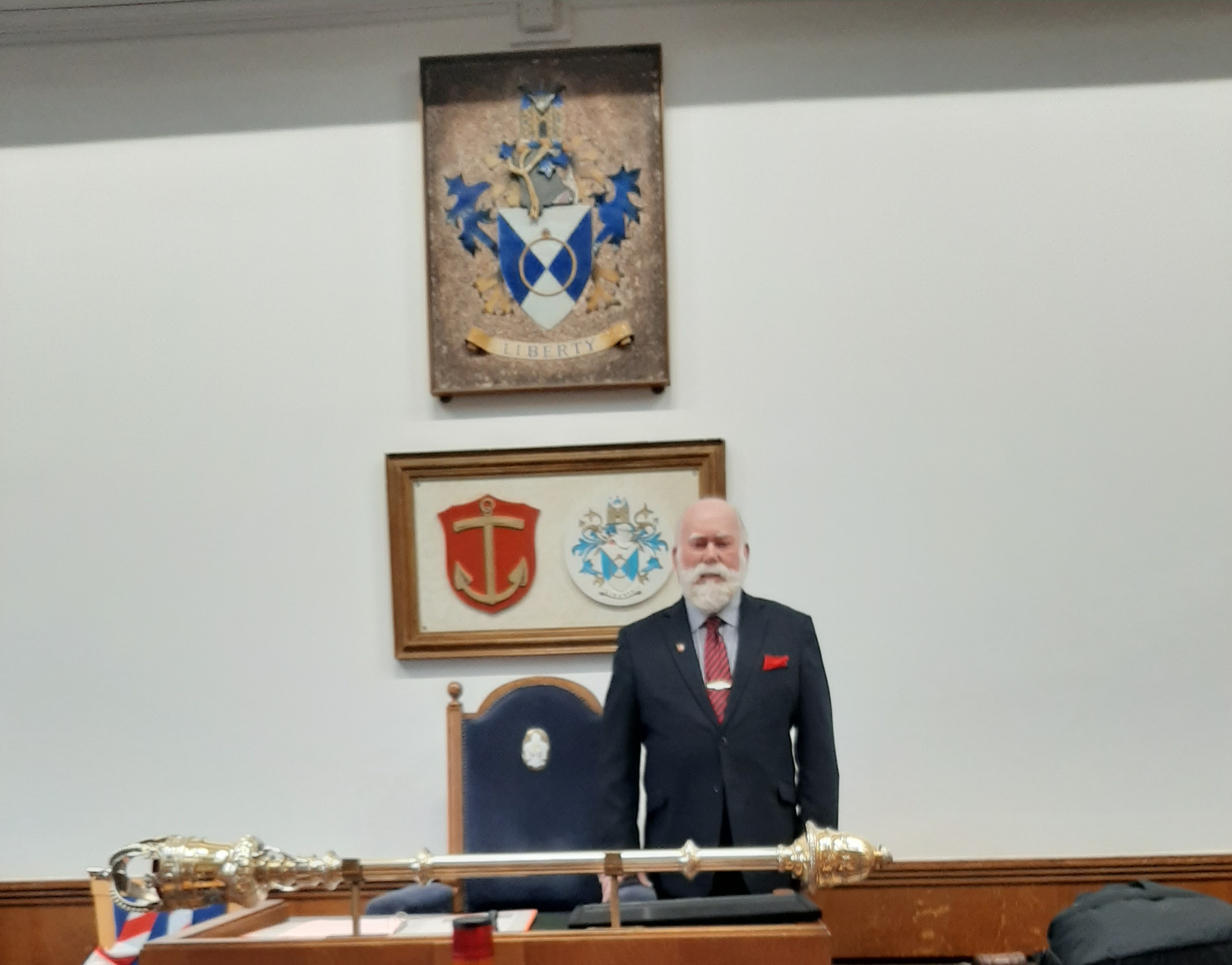 Cllr John Mylod, Mayor of Havering