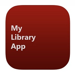 My library logo