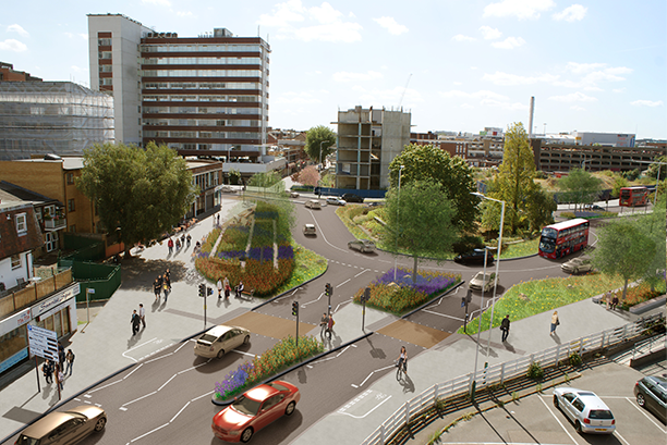 How North Street roundabout could look following the works