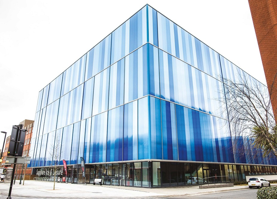 Sapphire Ice & Leisure took the title of Civic Building of the Year at the SPACES Awards.
