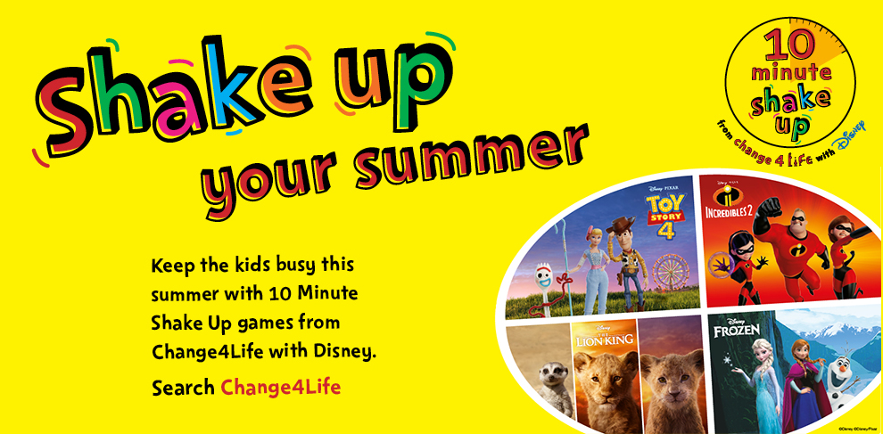 Shake up your summer promotional banner
